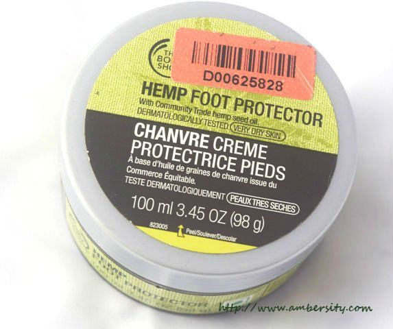 The Body Shop Hemp Foot Protector – Review