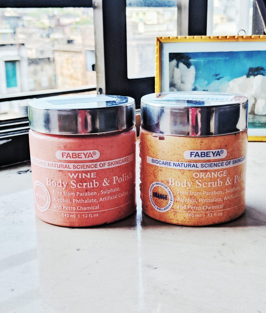 Fabeya BioCare Natural Body Scrub and Polish Review : Orange & Wine
