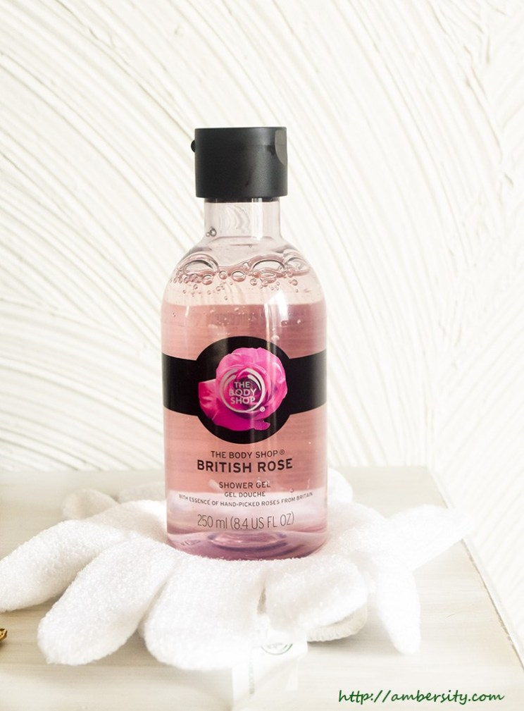 The Body Shop British Rose Shower Gel : Review
