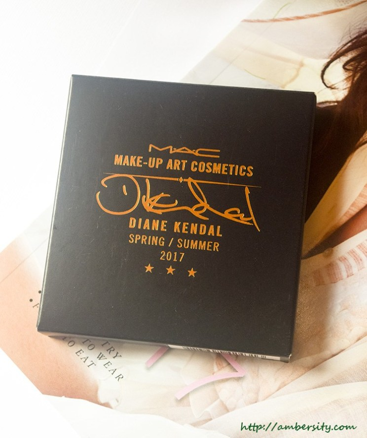 MAC Diane Kendal Glamourize Me Eyeshadow Palette – Review, Swatches