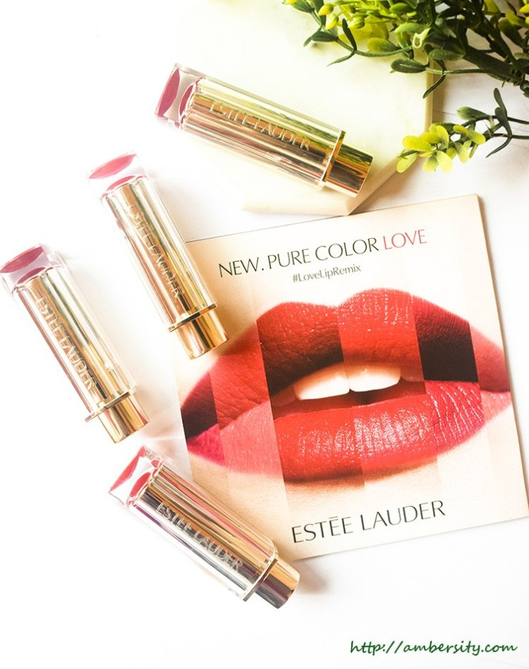 Estée Lauder Pure Color Love Lipsticks – Review, Swatches, LOTD