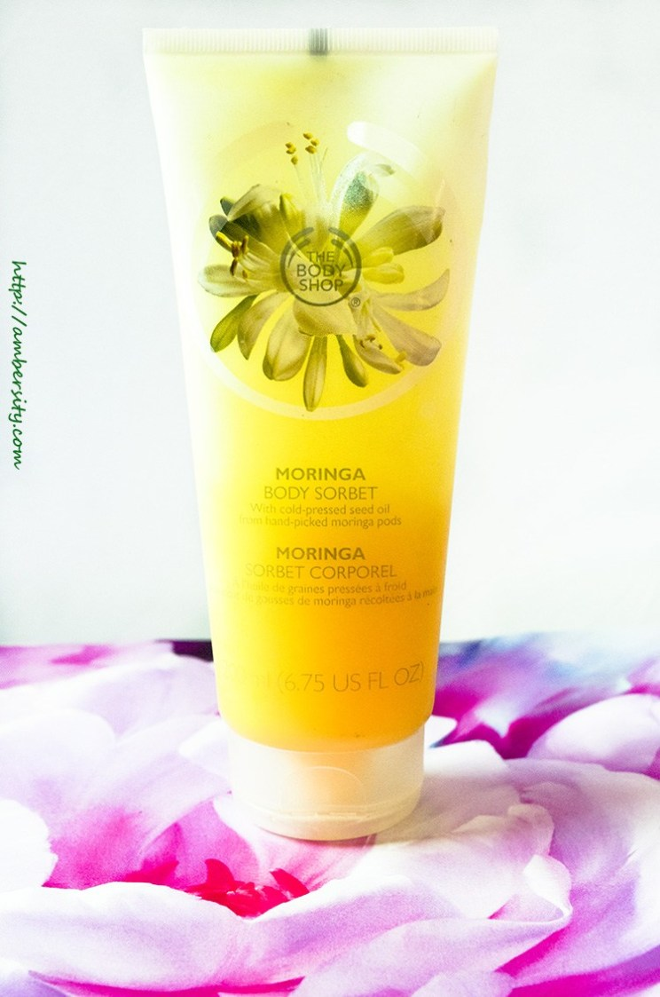 The Body Shop Moringa Body Sorbet – Review