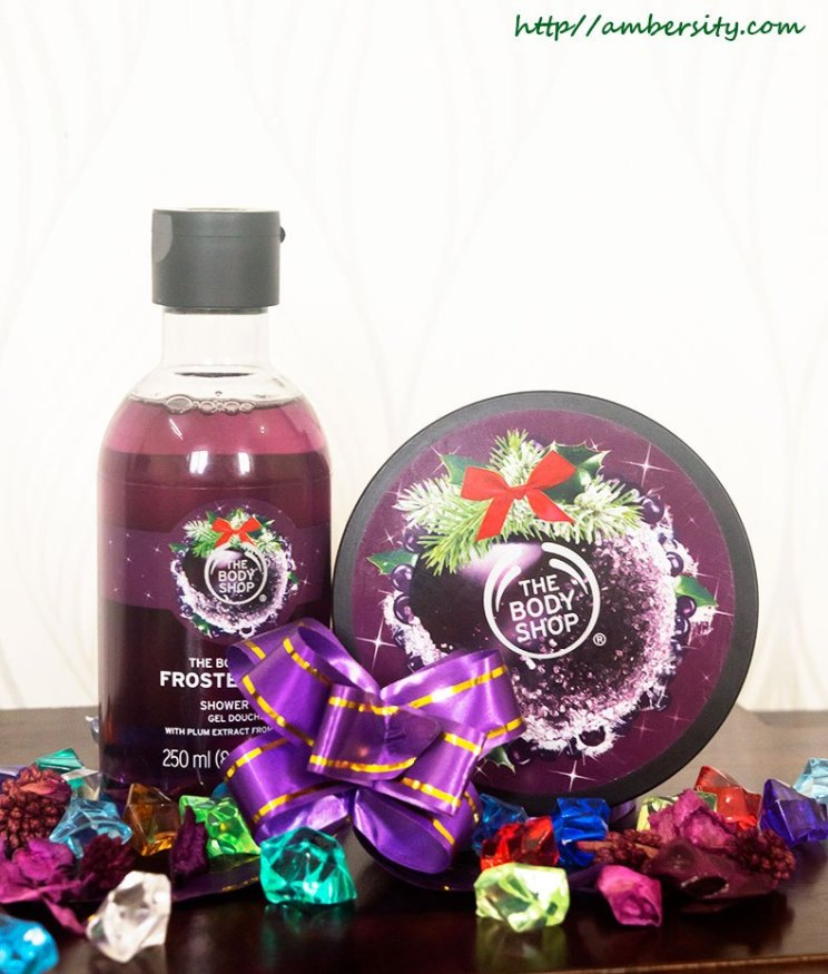 The Body Shop Frosted Plum Body Butter, Shower Gel : Review