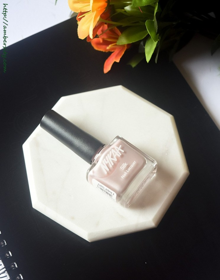 Nykaa Silk Nail Lacquer Pretty In Pink – Review, Swatches