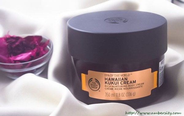 The Body Shop Spa of the World Hawaiian Kukui Cream – Review