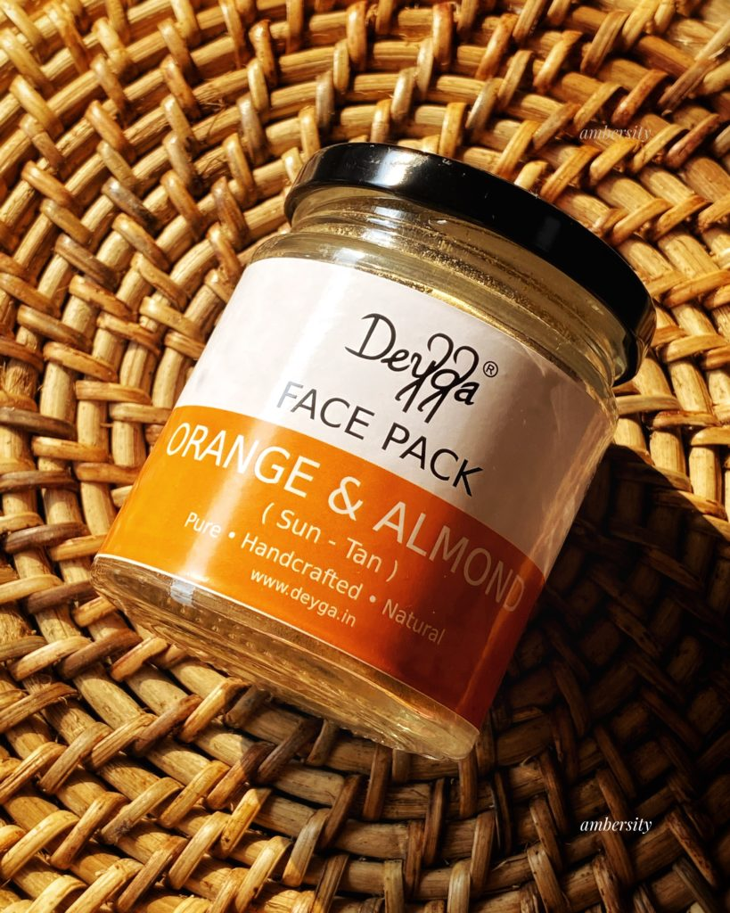 Deyga Orange and Almond Face Mask