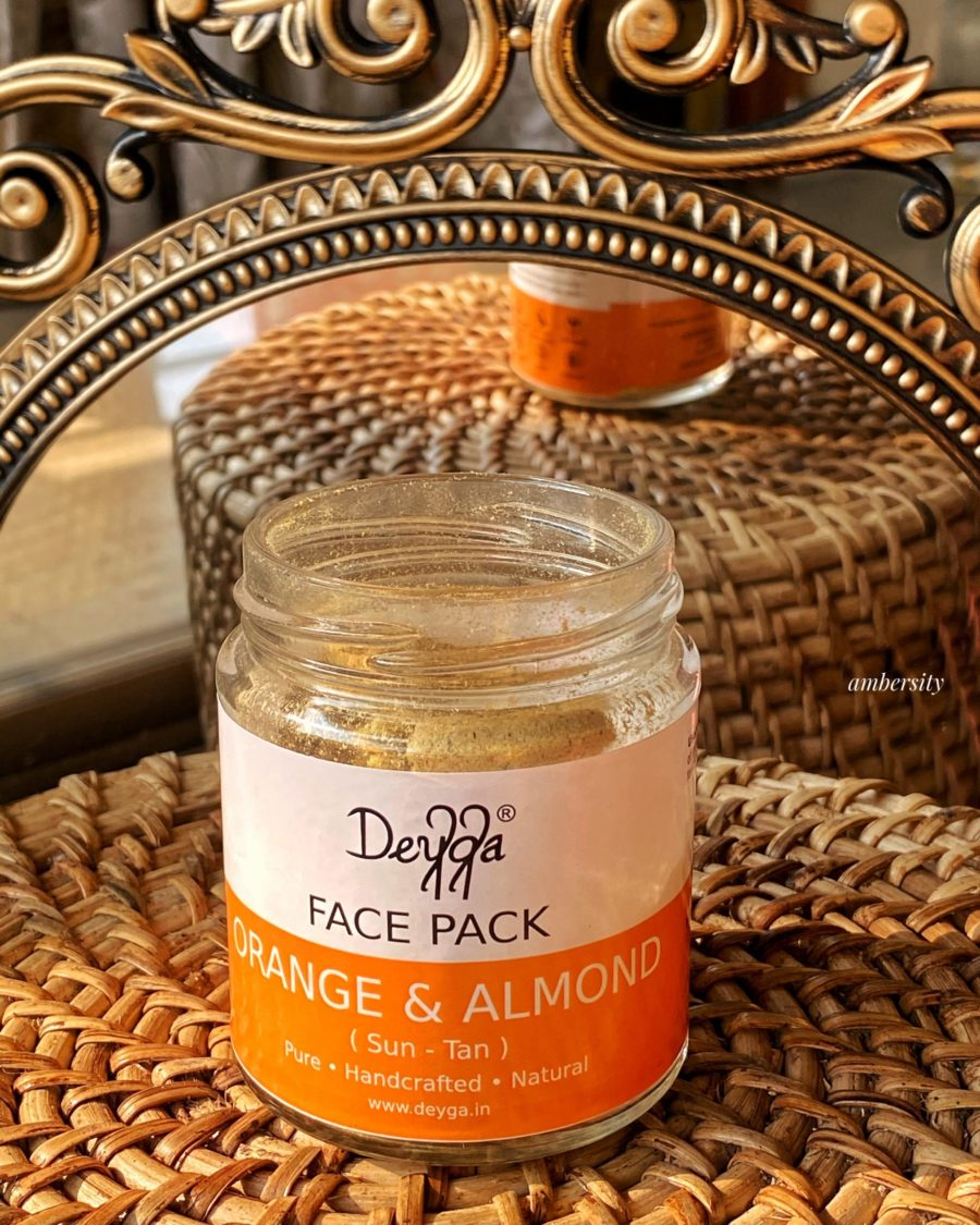 Deyga Orange and Almond Face Pack Review: Remove that Tan!